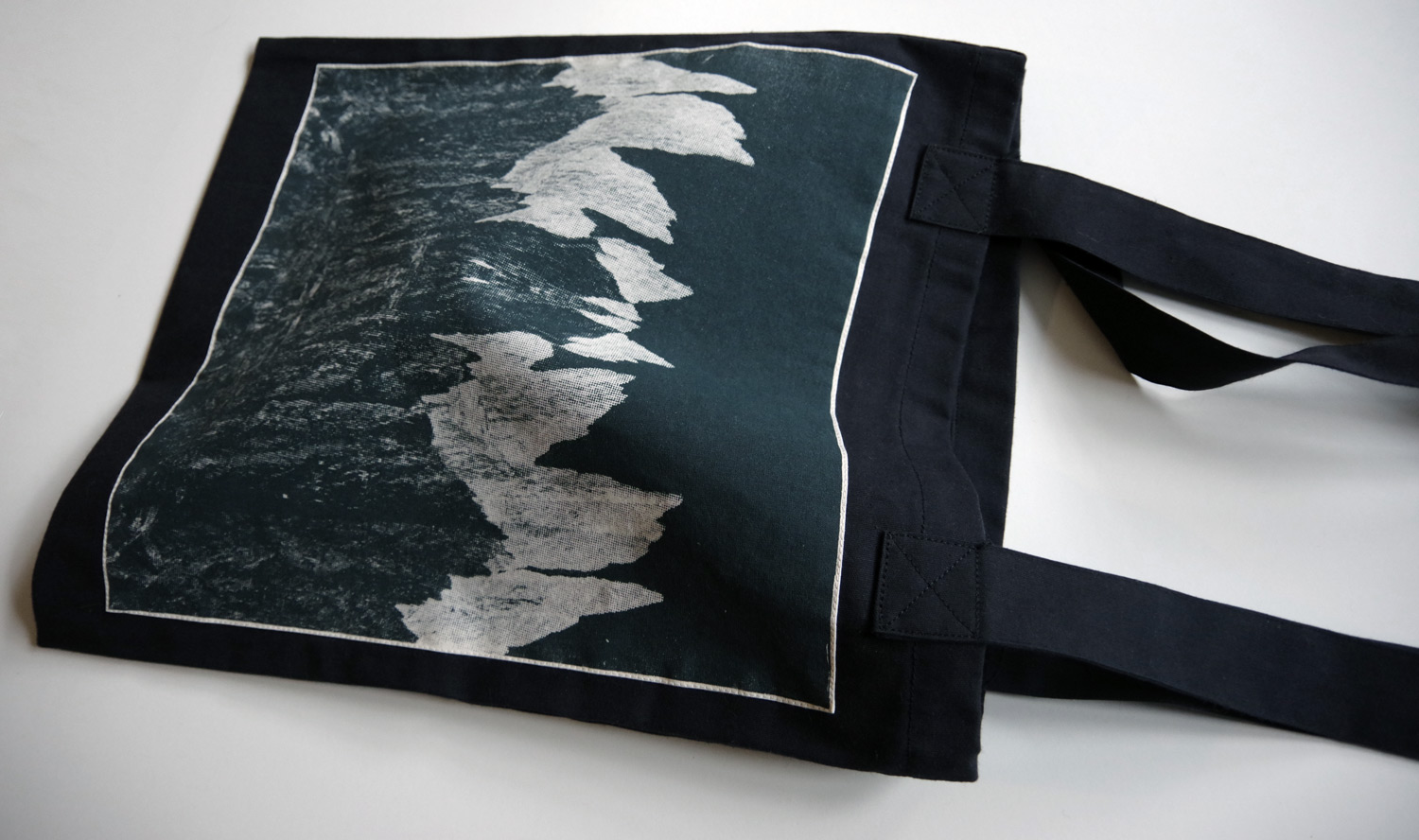 Upcycled Dark Bag - Snowdonia