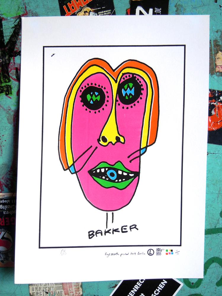 BAKKER print