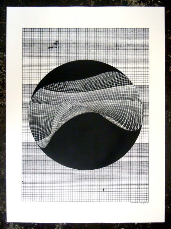 Figure and Grid prints by Dylan Bakker 1