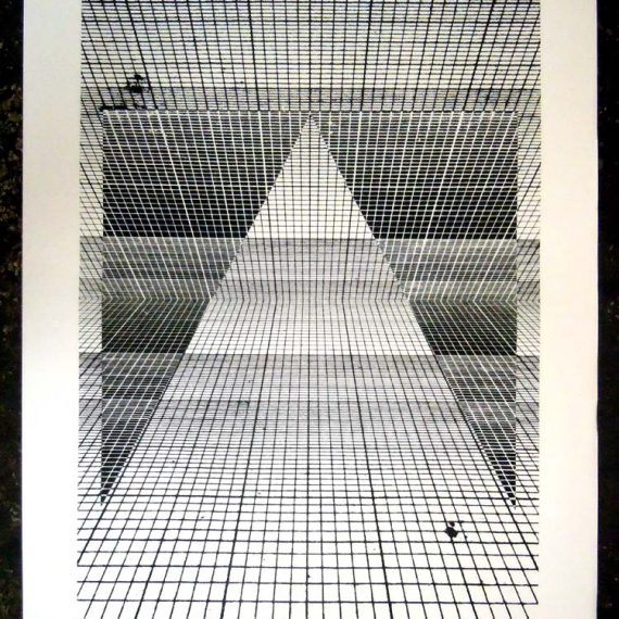 Figure and Grid prints by Dylan Bakker 10