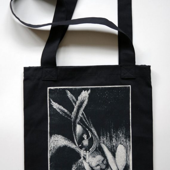 Upcycled Dark Bag - Moriava
