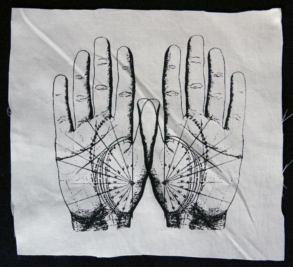 Fortune Telling Hands Patch