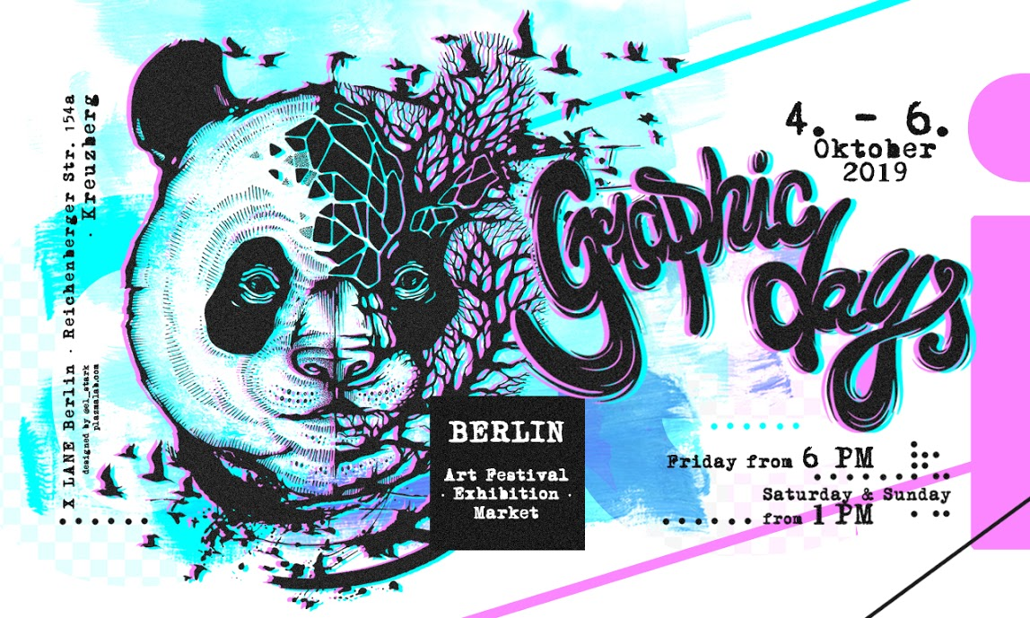 Back at Berlin Graphic Days 4-6 Okt.